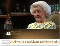 click to see assisted living resident testimonials