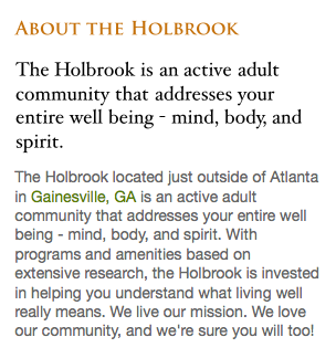 HolbrookAbout