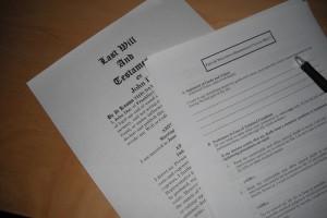 Living Will Paperwork