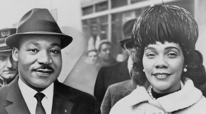 Martin Luther King Jr and Coretta Scott King