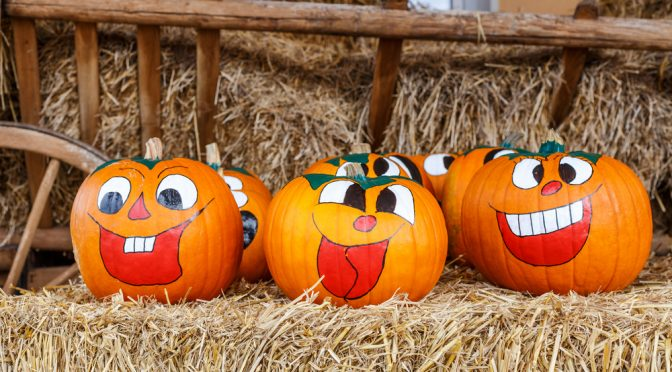 Laughing Halloween Pumpkins