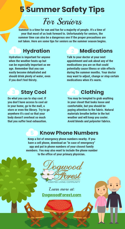5 Summer Safety Tips for Seniors